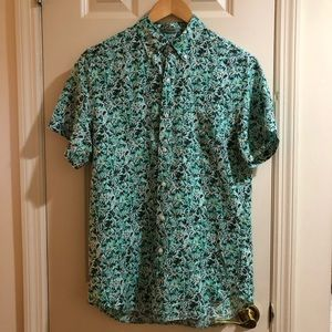 J.Crew Mens Linen Shirt in Small Classic Fit